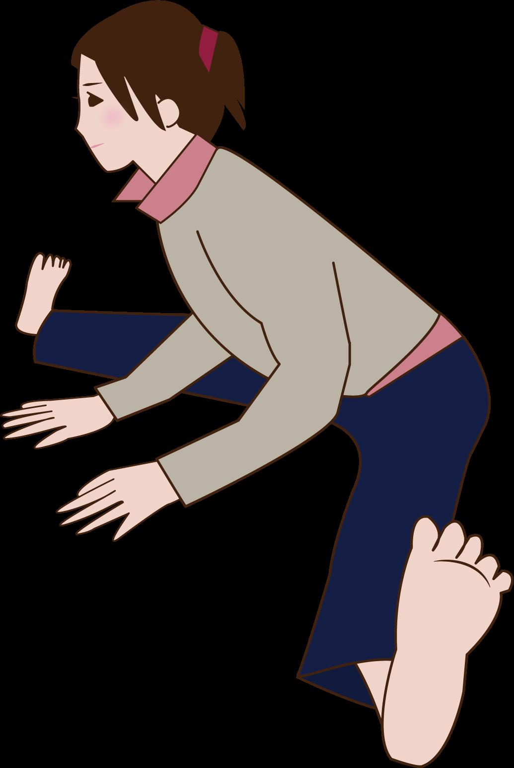 股関節ストレッチ (1)