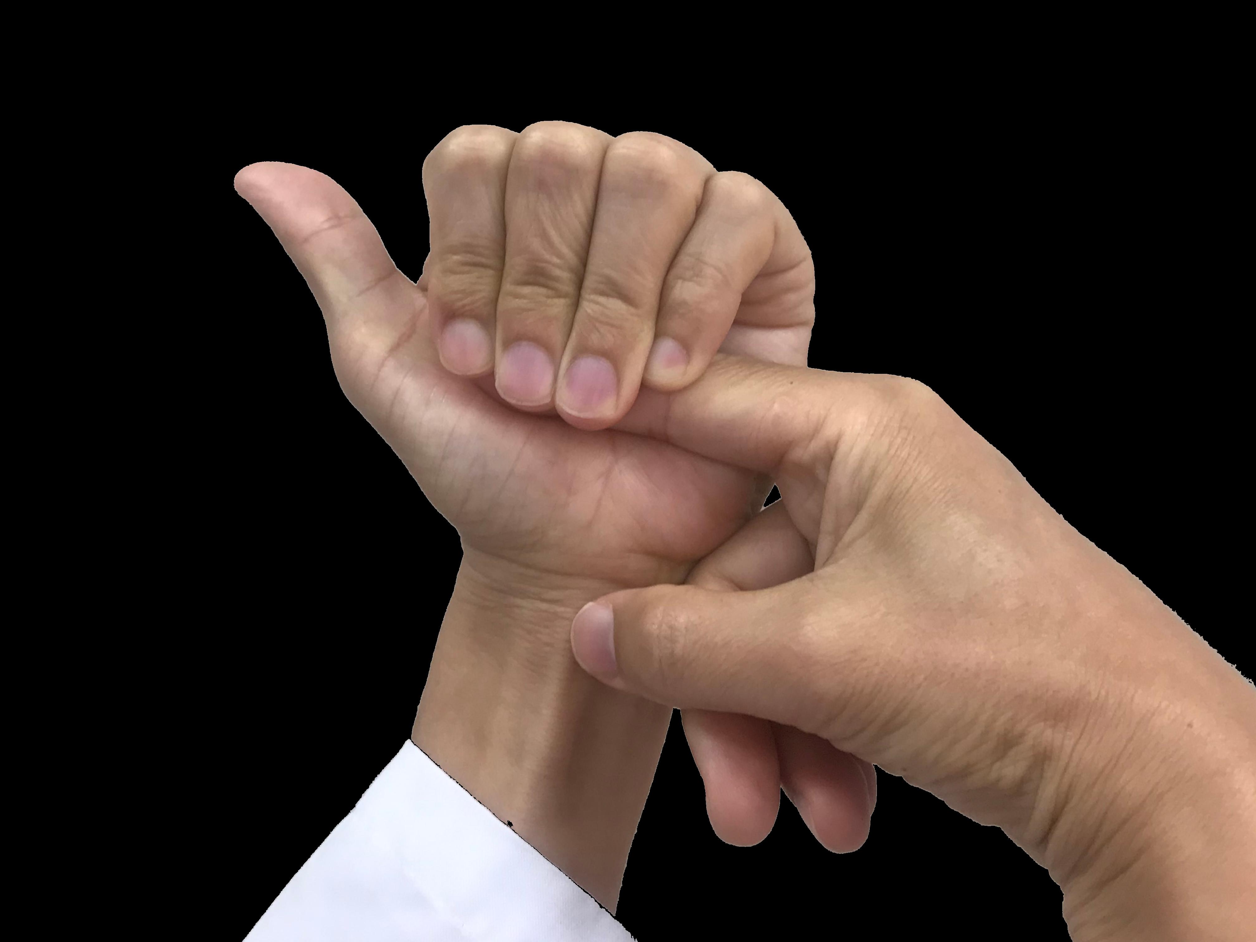 ばね指ストレッチ