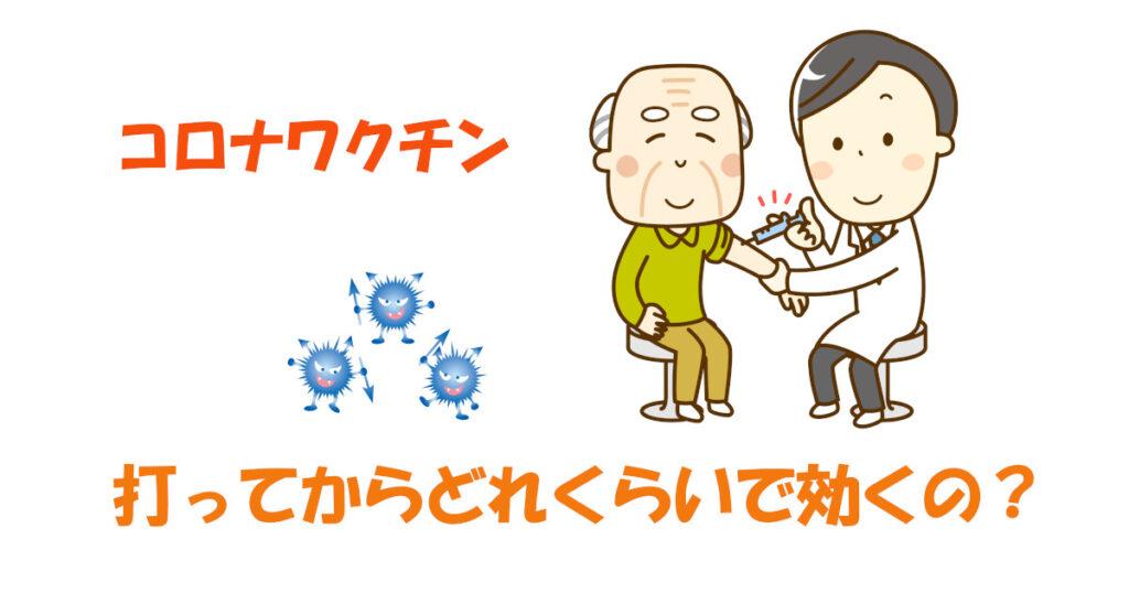 コロナワクチン 効果発現